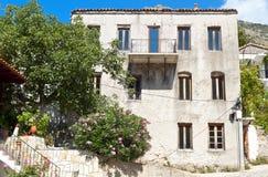 Traditional greek house at Samothraki island Royalty Free Stock Photography