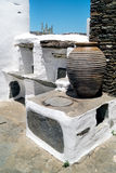 Traditional greek house on Sifnos island, Royalty Free Stock Images