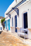 Traditional greek house on Sifnos island Royalty Free Stock Photography