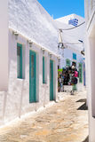 Traditional greek house on Sifnos island Royalty Free Stock Photos