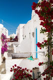 Traditional greek house on Sifnos island Stock Images