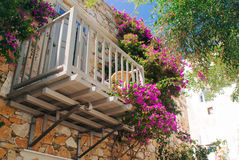 Traditional greek house on Sifnos island, Royalty Free Stock Photos