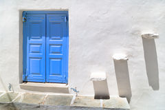 Traditional greek house on Sifnos island Royalty Free Stock Image