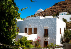 Traditional greek house on Sifnos island Stock Photo