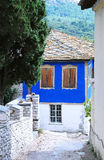 Traditional greek house Stock Image
