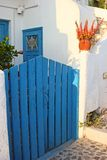 Traditional greek house Royalty Free Stock Photo