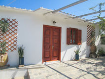 Traditional Greek house Royalty Free Stock Images