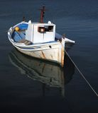 Traditional greek old fishing boat Royalty Free Stock Image