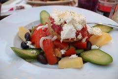 Traditional Greek salad Stock Image
