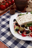 Traditional Greek salad Royalty Free Stock Images