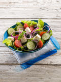 Traditional greek salad Stock Image