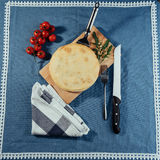 Traditional Greek spinach pie with puff pastry Royalty Free Stock Images