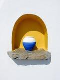 Traditional greek vase Stock Photo