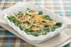 Traditional Green Bean Casserole Stock Photo