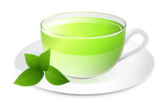 Traditional green tea Royalty Free Stock Photos