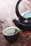 Traditional green tea ceremony. Stock Image