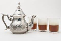 Traditional green tea Stock Photos