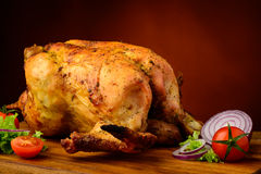Traditional grilled chicken Royalty Free Stock Image