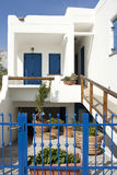 Traditional guest house in Koufonisia island Stock Photography