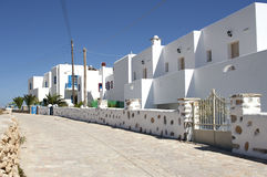 Traditional guest houses in Koufonisia island Stock Images