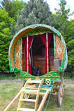 Traditional gypsy caravan Stock Image