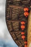 Traditional Hakka house details Stock Photo