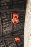Traditional Hakka house details Stock Image