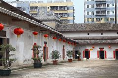 Traditional Hakka village in China Royalty Free Stock Photography