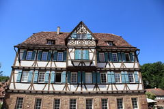 Traditional half-timbered house Royalty Free Stock Photo