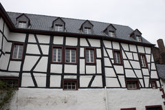 Traditional half timbered house Stock Images