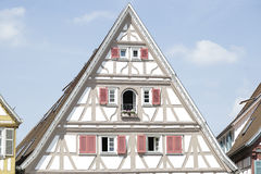 Traditional half-timbered house. Located in Herrenberg, Black Forest, Baden-Wuerttemberg, Germany Royalty Free Stock Photos
