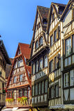 Traditional half-timbered houses in historic area Strasbourg, Fr Royalty Free Stock Images