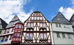 Traditional half-timbered houses in Limburg, Germany Royalty Free Stock Photography