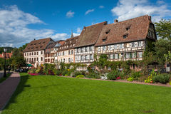 Traditional half-timbered houses in Wissembourg Royalty Free Stock Image