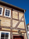 Traditional half timbered wooden house Germany Royalty Free Stock Photos