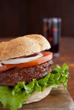 Traditional Hamburger Royalty Free Stock Photo