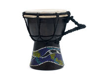 Traditional hand drum Royalty Free Stock Images