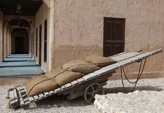 Traditional handcart Royalty Free Stock Image