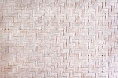 Traditional handcraft dried reed woven mat texture, nature patterns on background royalty free stock photography