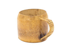 Traditional handcrafted mug cup perfect for tea, coffee or beer Stock Image