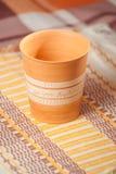 Traditional handcrafted mug Stock Photo