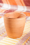 Traditional handcrafted mug Stock Images
