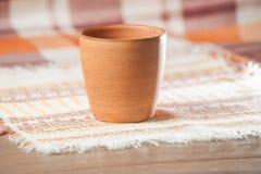 Traditional handcrafted mug Stock Image