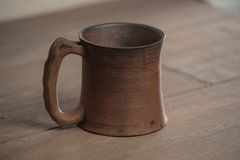 Traditional handcrafted mug Stock Image