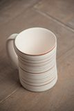 Traditional handcrafted mug Royalty Free Stock Photos