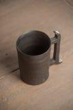 Traditional handcrafted mug Stock Photography