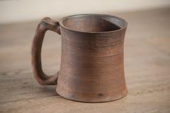 Traditional handcrafted mug Royalty Free Stock Photos
