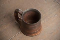 Traditional handcrafted mug Royalty Free Stock Photo
