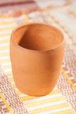 Traditional handcrafted mug. Perfect for tea, coffee or beer Stock Photography