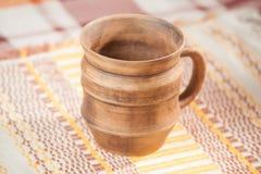 Traditional handcrafted mug Stock Photos